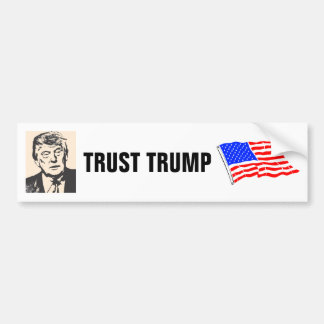 大統領2016年のための信頼ドナルド・トランプ バンパーステッカー