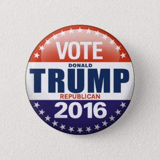 大統領2016年のための投票ドナルド・トランプ 5.7CM 丸型バッジ