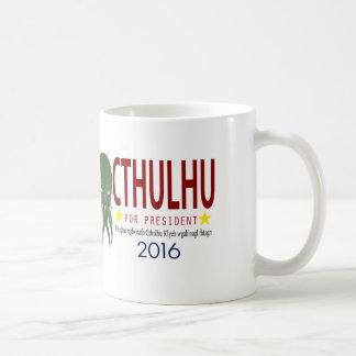 大統領2016年のためのCthulhu コーヒーマグカップ