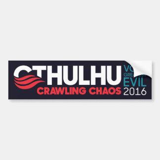 大統領2016年のためのCthulhu/Nyarlathotep バンパーステッカー
