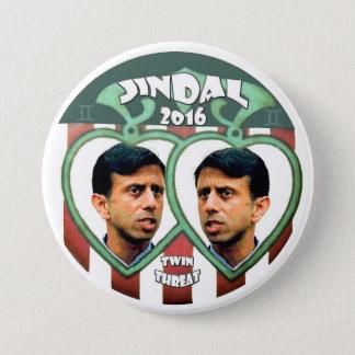 大統領2016年のためのJindal 缶バッジ