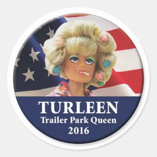 大統領2016年のためのTurleen ラウンドシール