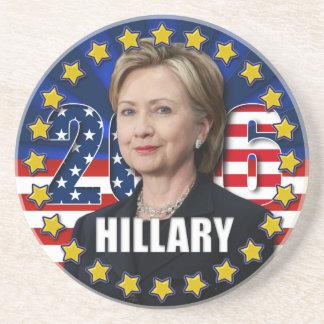 大統領2016年のコースターのためのヒラリー・クリントン コースター