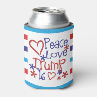 大統領2016年の選挙のギアのための平和愛切札 缶クーラー