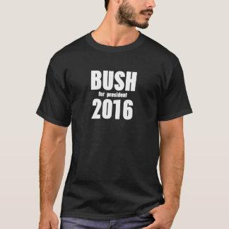 大統領2016年のTシャツのためのブッシュ Tシャツ