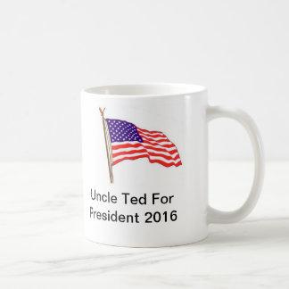 大統領2016年テッドFor叔父さん コーヒーマグカップ