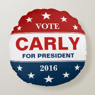 大統領2016投票のキャンペーンのためのCarly Fiorina ラウンドクッション