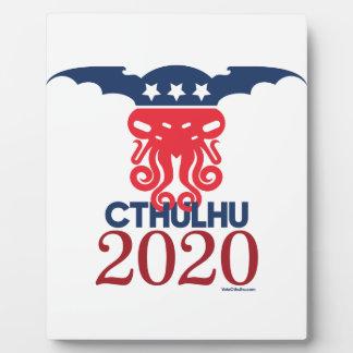 大統領2020年のためのCthulhu フォトプラーク