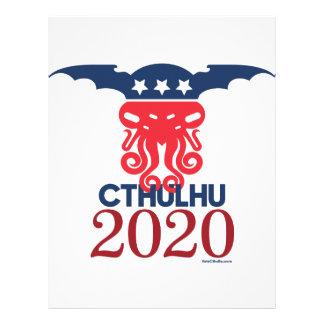 大統領2020年のためのCthulhu レターヘッド