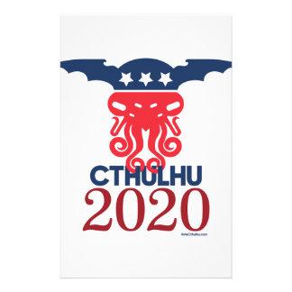 大統領2020年のためのCthulhu 便箋