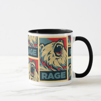大統領(マグ)のための激怒くま マグカップ