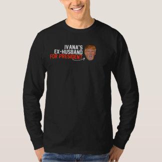 大統領- .pngのためのIvanaの先夫 Tシャツ