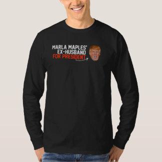 大統領- .pngのためのMarlaのかえでの先夫 Tシャツ