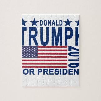大統領Tシャツ.pngのためのドナルド・トランプ ジグソーパズル