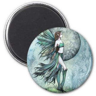 大胆不敵なゴシック様式ファンタジーのモーリーのハリスンの妖精の芸術 マグネット