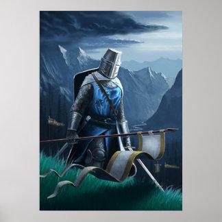 大胆不敵な騎士は行進します ポスター
