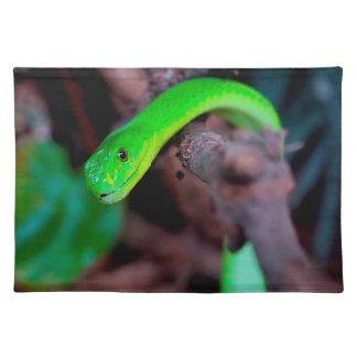 大蛇のヘビ ランチョンマット