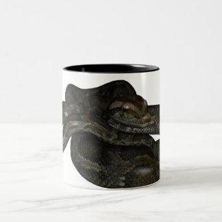 大蛇のマグ ツートーンマグカップ