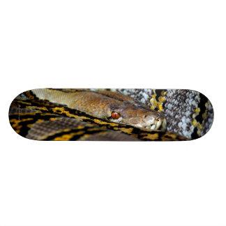 大蛇のOの沢山のカッコいいの動物のヘビのBroのクリスマスのギフト 19.7cm スケートボードデッキ