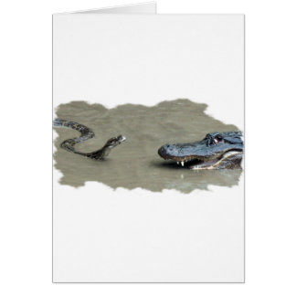 大蛇対わに カード