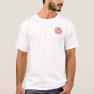 大衆文化のクランチの基本的なTシャツ Tシャツ