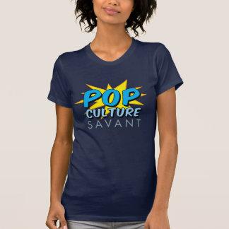 大衆文化の碩学のロゴのワイシャツ(女性) Tシャツ