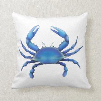 大西洋のチェサピークの青カニの枕 クッション