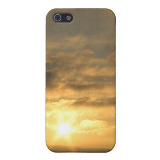 大西洋のフランスのな海岸の日没 iPhone 5 CASE