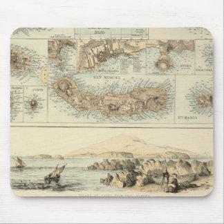 大西洋のポルトガルの島 マウスパッド