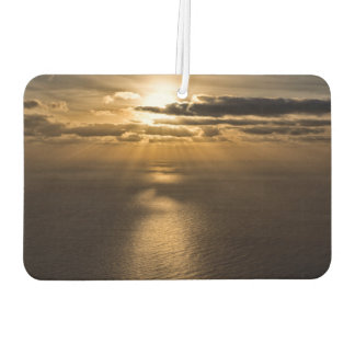 大西洋の上の日の出 カーエアーフレッシュナー