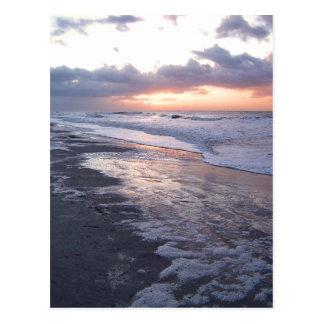 大西洋の日の出 ポストカード