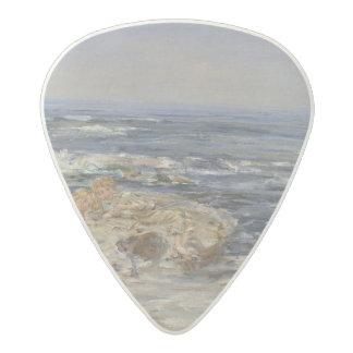 大西洋の波1899年(キャンバスの油) アセタール ギターピック