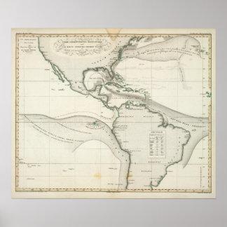 大西洋の流れ ポスター