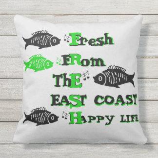 大西洋の海岸の新しい東海岸の幸せな生命枕 クッション