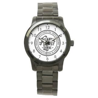 大西洋の海岸ライン鉄道ロゴ 腕時計