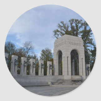 大西洋の記念物WWIIの記念物 ラウンドシール