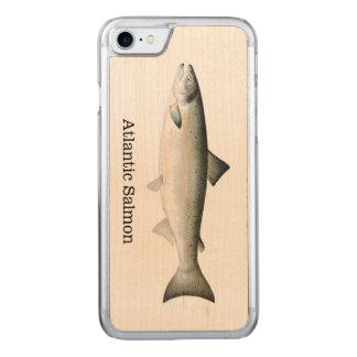 大西洋サケの魚 CARVED iPhone 8/7 ケース