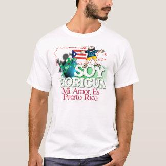 大豆Boricua Tシャツ