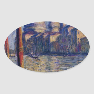 大運河およびサンタマリアのdellaの挨拶 楕円形シール