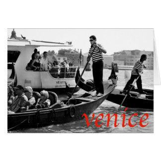 大運河のベニスGONDOLERS カード