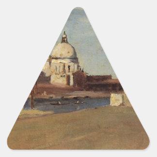 大運河の眺め、Rivaからのベニス、 三角形シール
