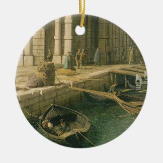 大運河への入口: 西に、c.1738-見ます セラミックオーナメント