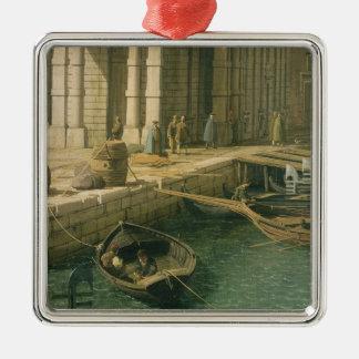 大運河への入口: 西に、c.1738-見ます メタルオーナメント