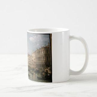 大運河、バーナードBellotto著北からの眺め コーヒーマグカップ