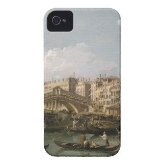 大運河、バーナードBellotto著北からの眺め Case-Mate iPhone 4 ケース
