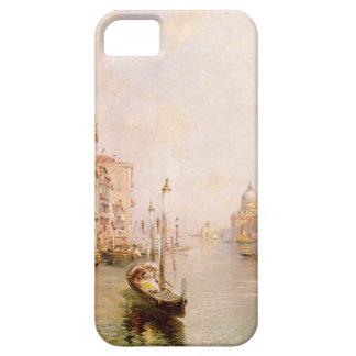 大運河、フランツリチャード著ベニス iPhone SE/5/5s ケース