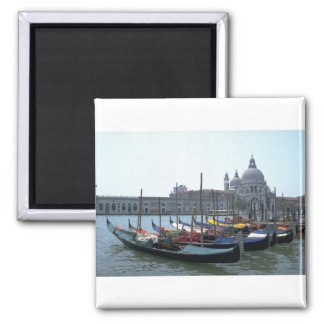 大運河、ベニス、イタリアのゴンドラ マグネット