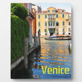大運河、ベニス、イタリア フォトプラーク
