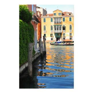 大運河、ベニス、イタリア 便箋