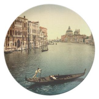 大運河II、ベニス、イタリア プレート